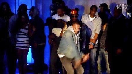CB夜店的一段舞蹈表演