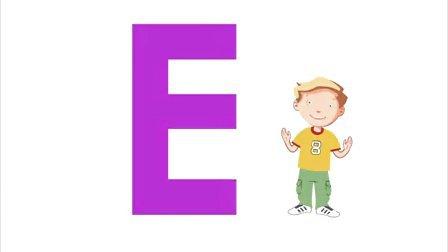自然拼读Phonics 26个字母A-H 发音歌曲