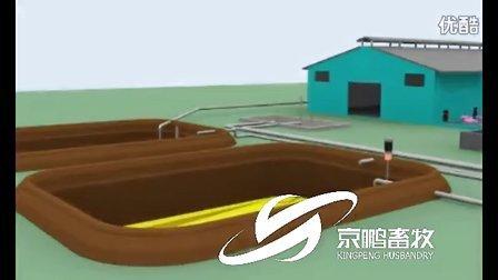 京鹏畜牧牧场全自动饲喂系统及固液分离系统