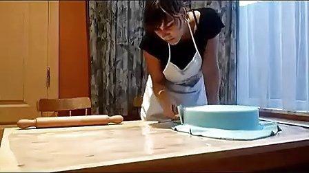 翻糖蛋糕制作教学视频