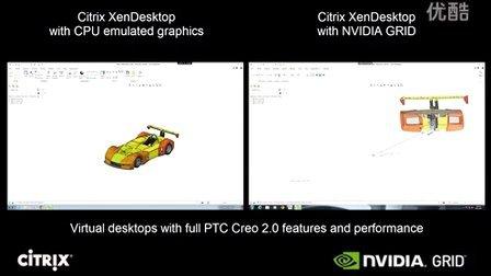 PTC Creo 2.0 CPU Only vs NVIDIA GRID K2