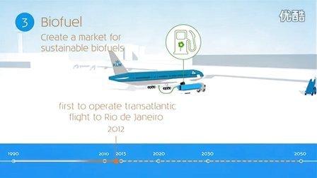 荷航KLM:生物燃油航班,领军可持续发展