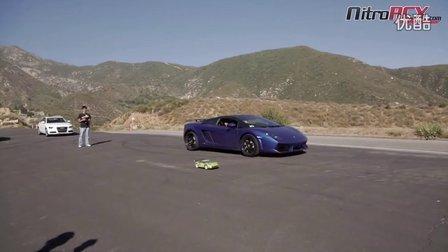 550匹马力林宝坚尼和遥控车比加速
