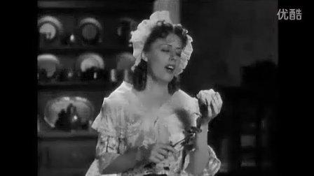 "Irene Dunne ""夏日最后一朵玫瑰"" 古诺浮士德""珠宝之歌"""