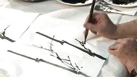国画技法·竹子的画法(第一讲)