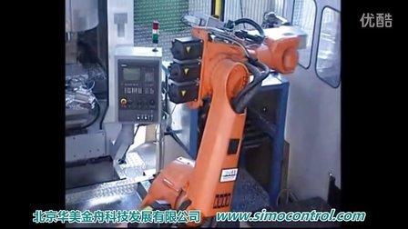 华美机器人运用-车毂生产线多工序加工辅助机器人-KuKa