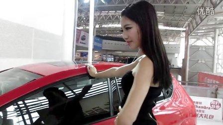 【拍客】2013湖南车展____西雅特汽车 美女DJ 西班牙女郎