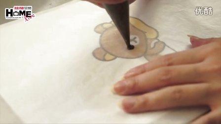 美食DIY - 好玩易做 松弛熊彩绘蛋糕卷