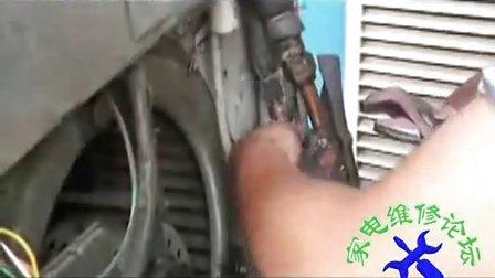 空调移机空调加氟实际操作视频教程学习