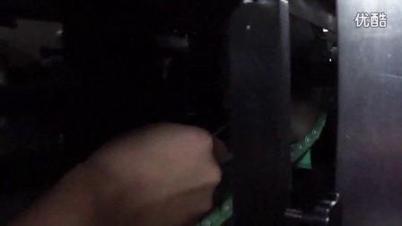 Cartoning machine debugging box size video