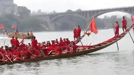 2013湖南溆浦大江口龙舟q9