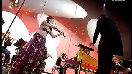 巴赫小提琴协奏曲 BWV1041 希拉里哈恩