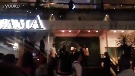 130705李敏鎬離開飯店 Leaving from Aracama Restaurant Manila