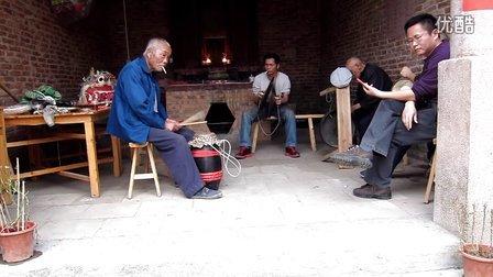 清远市源潭客家鸡公狮锣鼓镲乐器表演