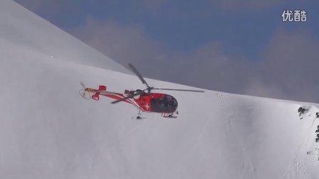 【阿苏科斯】景色不错 滑雪猛男狂飙