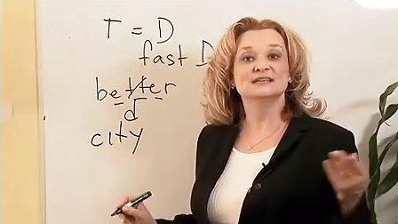 英语口语发音-美式英语之20-LISA美语原版视频