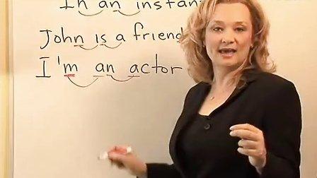 英语口语发音-美式英语之41-LISA美语原版视频