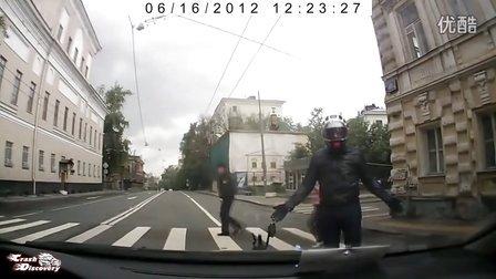 摩托车事故集锦