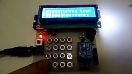 基于51单片机电子密码锁 送电路图和程序
