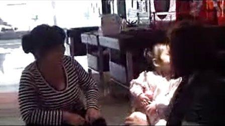 美国人收养的重庆女童史格秀(格格)vienna1