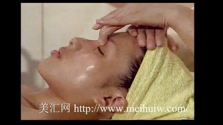 美容按摩手法之脸部皮肤 美容师按摩手法
