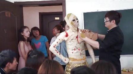 中影影视艺术研究院演绎特效化妆