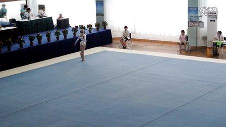 2013中俄对抗赛团体 Daria Mikhaylova FX 4.9 12.7