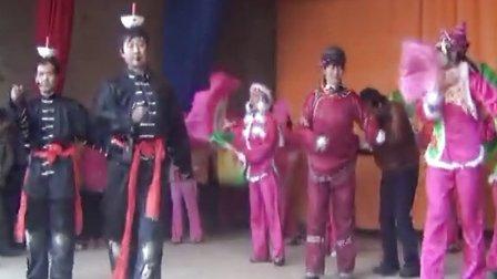 2013甘谷县椿树岘秧歌演出之刘家屲《顶灯》
