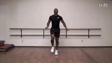 拳击手跳绳热身