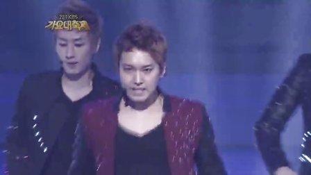 【X】[超清现场]111230 SuperJunior Mr.Simple 歌谣大庆典