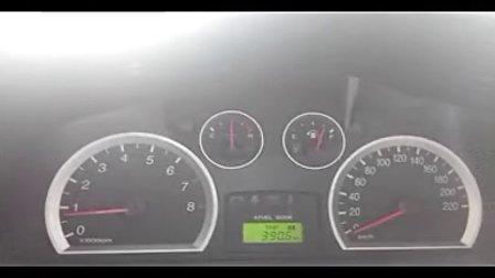 圣达菲1.8T手动挡百公里加速