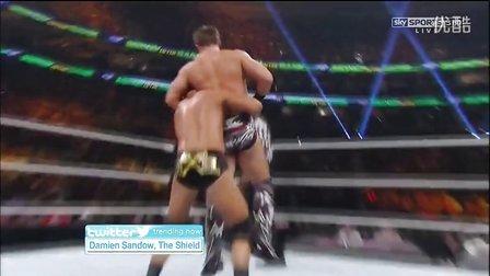 WWE.Money.In.The.Bank.2013 Curtis Axel vs The Miz