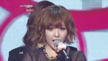 miss A -  我不需要男人 121221 KBS 音乐银行
