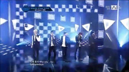 【M漠o】B1A4翻唱CNBLUE直觉 Mnet M!CountDown现场版