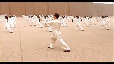 英莱特文化----《杨式太极拳》惠合同与百人一同操练鉴赏