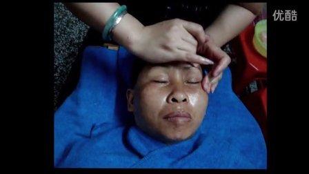 面部中欧式按摩护理 美容院专用面部穴位按摩手法视频教程