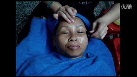 天然能量蘑菇石眼部通讯疗法护理 美容院特色眼部手法视频教程
