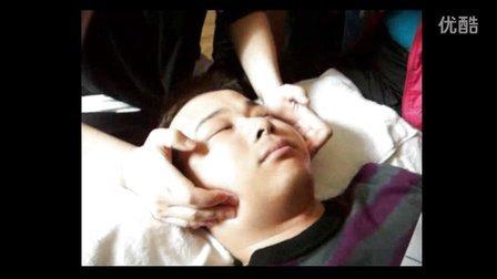 天然粉晶球面部护理 美容院特色手法视频教程