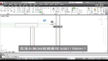 AutoCAD视频教程大全5.1绘制别墅一层平面户型图QQ717080417