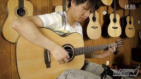 WaveGarden WG260om 新款高端单板吉他 评测试听