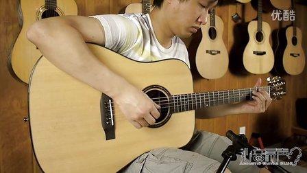 WaveGarden WG260D 新款高端单板吉他 评测试听