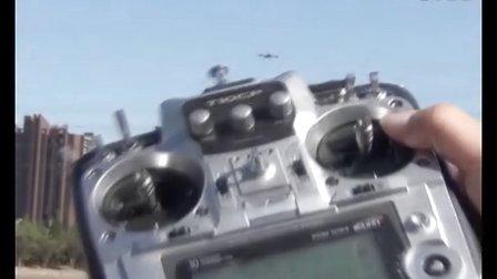 零度六轴搭载S4飞行和自主降落视频