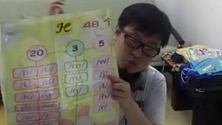 乐易突破英语48个音教学师资培训视频模式课第二版