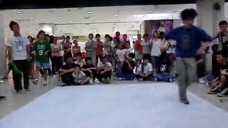 广西河池运达杯城市英雄街舞预热赛 hiphop海选