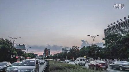 7月17日杭州古荡黄昏