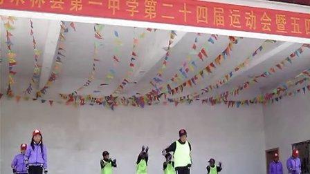 南木林县第一中学初二(13)班舞蹈《课间斗舞》