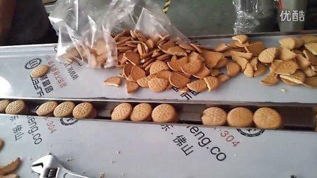 圆形饼干包装机-饼干套袋机-饼干塑料袋包装机