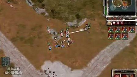 红色警戒3视频【帝国vs 帝国】第一视角
