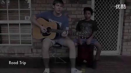 当吉他遇到cajon箱鼓
