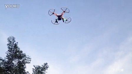 地面拍摄遥控飞行器实况